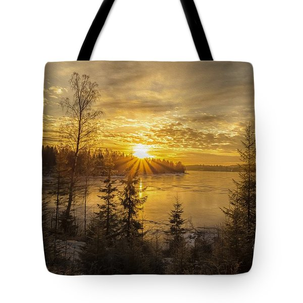 Tote Bag featuring the photograph Norway by Rose-Maries Pictures