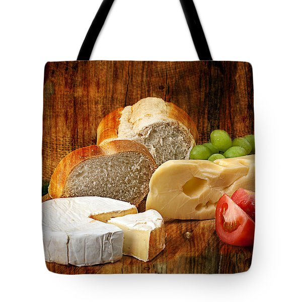 Norwegian Jarlsberg And Camembert Tote Bag