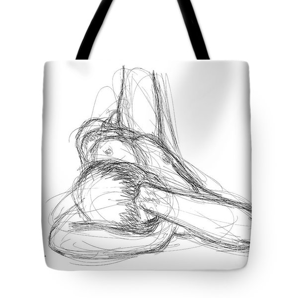Nude Male Sketches 2 Tote Bag