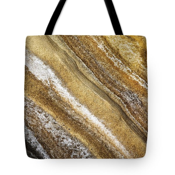 Tote Bag featuring the photograph Ocean Cliff Textures 3 by Charmian Vistaunet