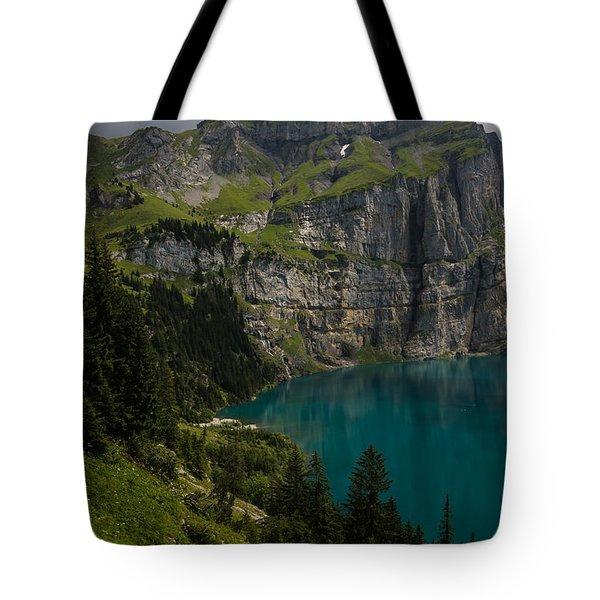 Oeschinensee - Swiss Alps - Switzerland Tote Bag
