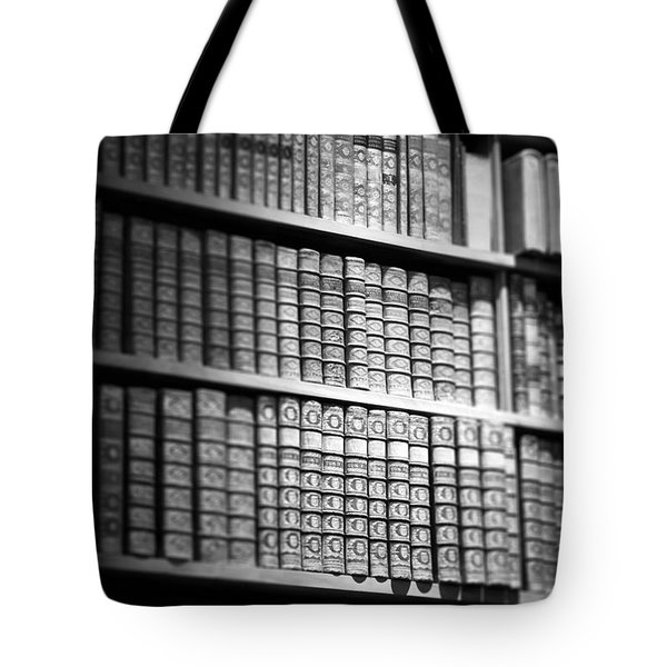 Old Books Tote Bag by Chevy Fleet