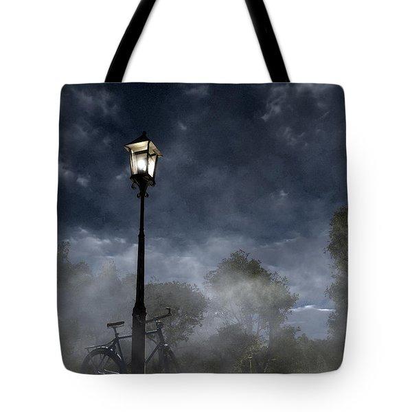 Ominous Avenue Tote Bag