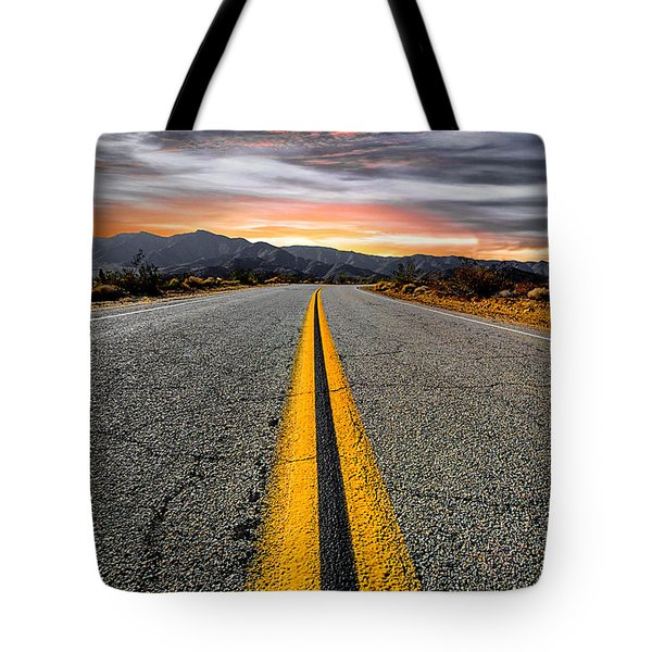 On Our Way  Tote Bag