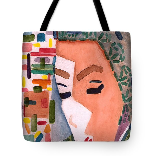 Tote Bag featuring the painting One Ringy Dingy by Paula Ayers