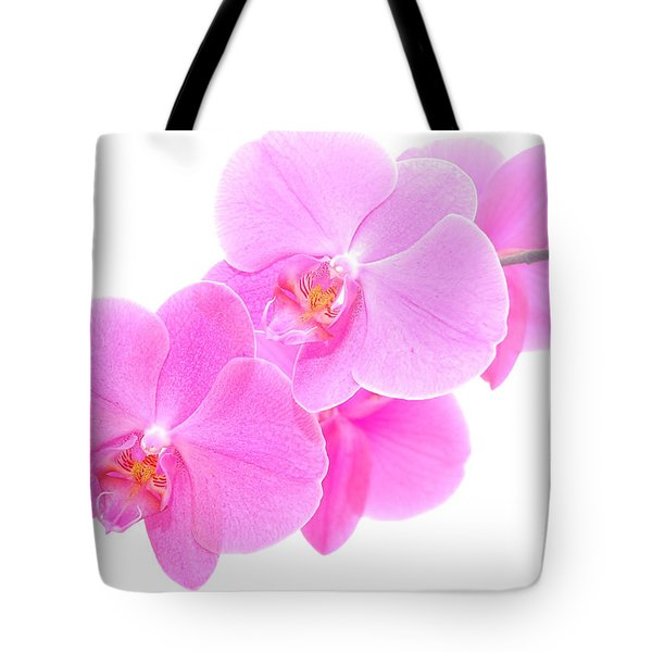 Orchid Isolated Tote Bag by Michal Bednarek