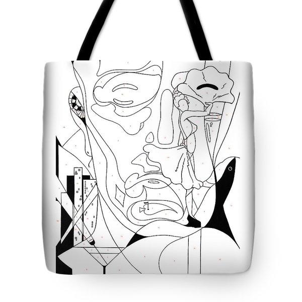 Paint By Number Las Vegas Tote Bag