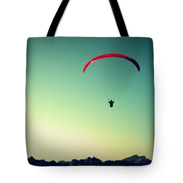 Paraglider Tote Bag