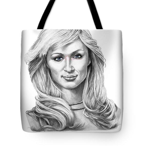 Paris Hilton Tote Bag by Murphy Elliott