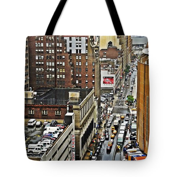 Tote Bag featuring the photograph Park N Lock by Lilliana Mendez