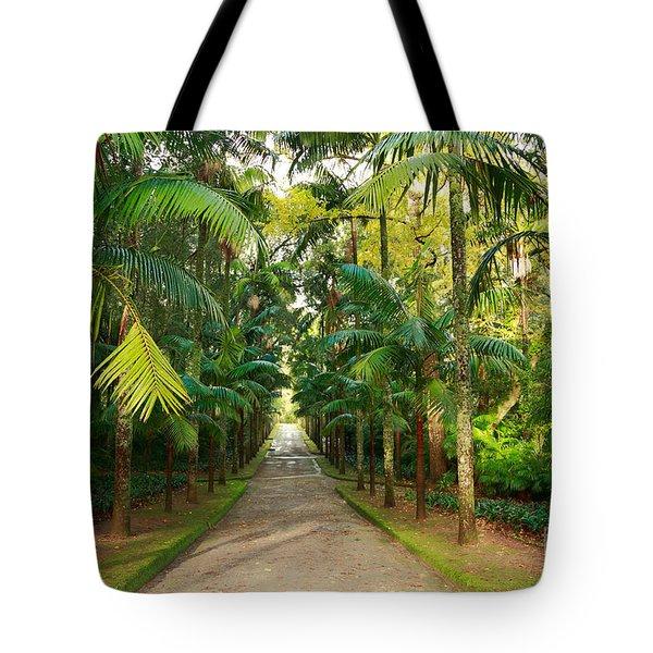 Parque Terra Nostra Tote Bag by Gaspar Avila