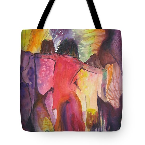 Passage Tote Bag by Diana Bursztein
