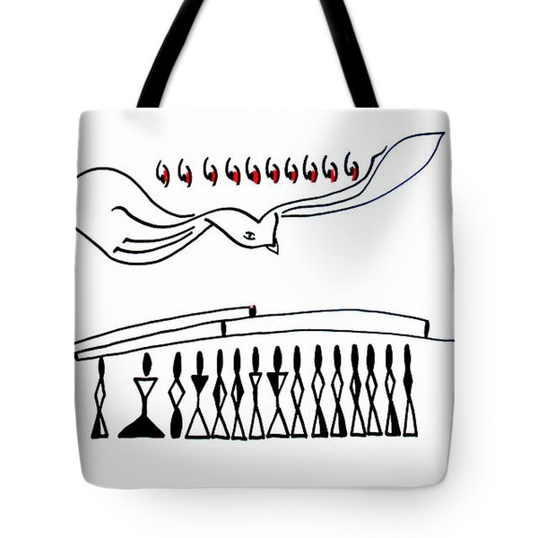 Pentecost Tote Bag by Gloria Ssali