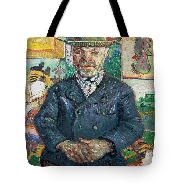 Pere Tanguy Tote Bag by Vincent van Gogh