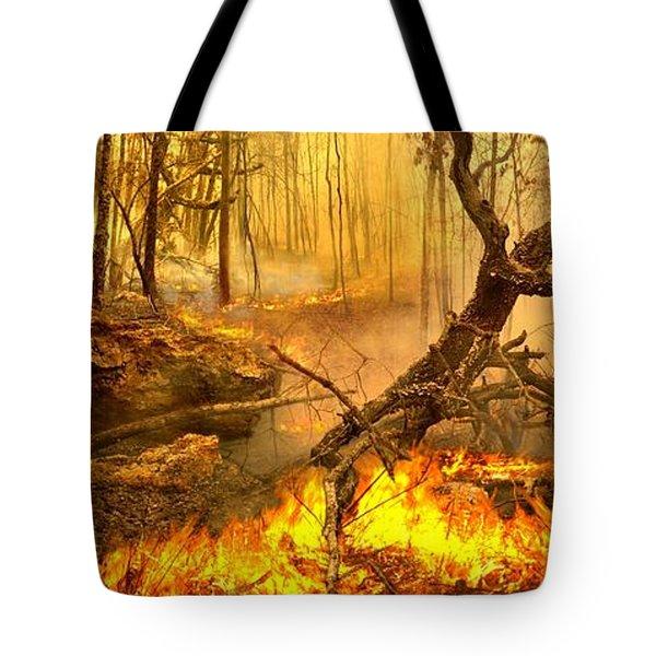 2 Peter 3 10 Tote Bag by Bill Stephens