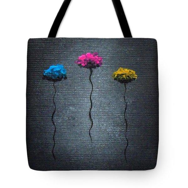 Petite Pretties Tote Bag by Oddball Art Co by Lizzy Love