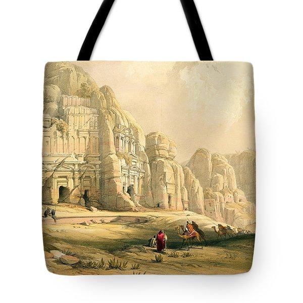 Petra Tote Bag by David Roberts