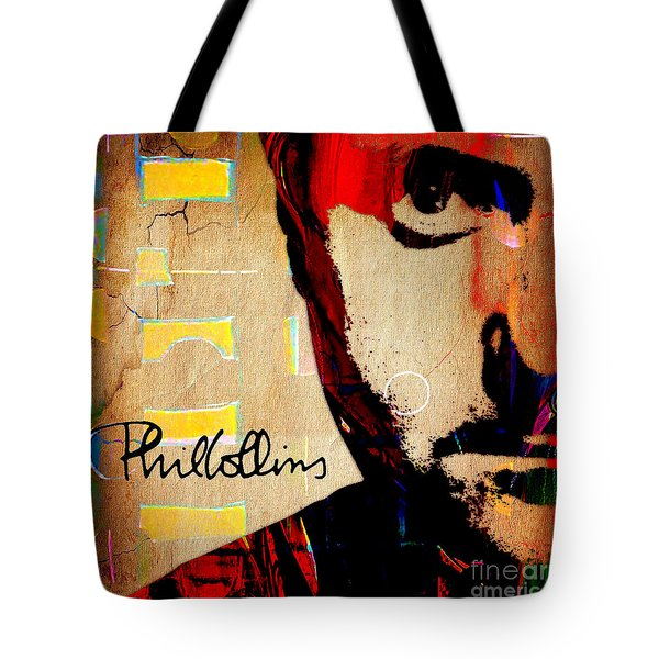 Phil Collins Collection Tote Bag