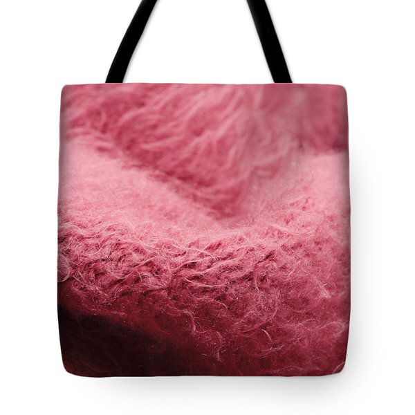 Pink Scarf Tote Bag by Tom Gowanlock