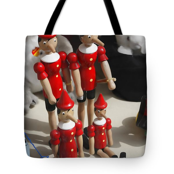 Tote Bag featuring the photograph Pinocchio by Craig B