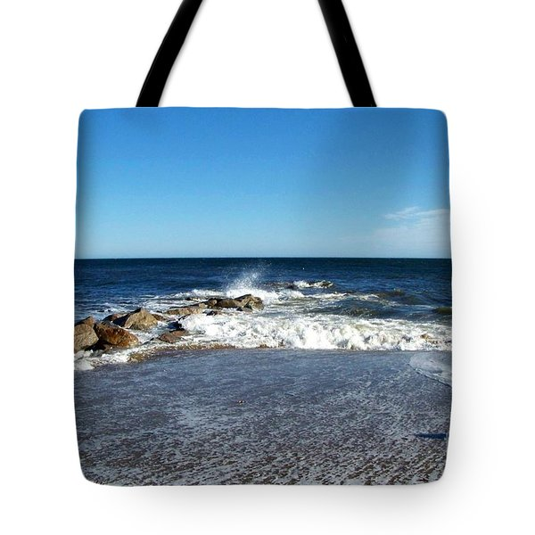 Tote Bag featuring the photograph Plum Island Landscape by Eunice Miller