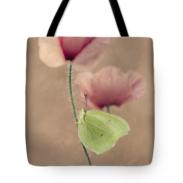 Tote Bag featuring the photograph Poppies by Jaroslaw Blaminsky
