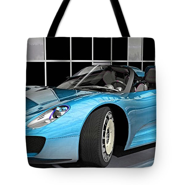 Porsche 918 Spyder Collection Tote Bag