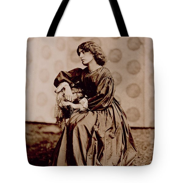 Portrait Of Jane Morris Tote Bag by John Parsons