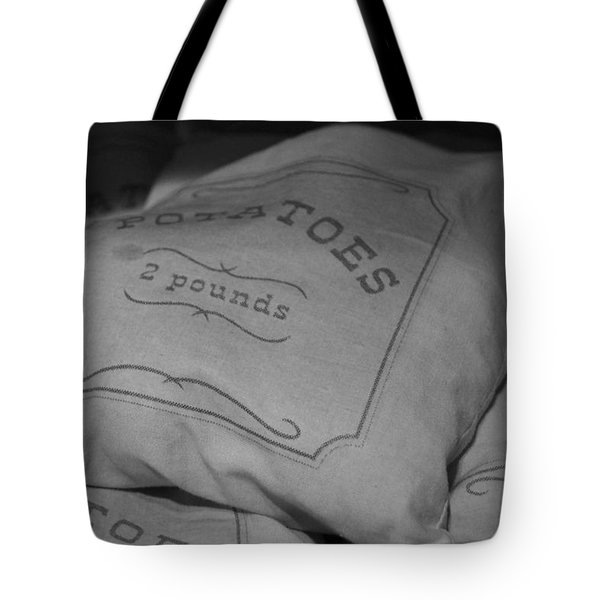 2 Pounds Of Potatoes Tote Bag by Holly Blunkall
