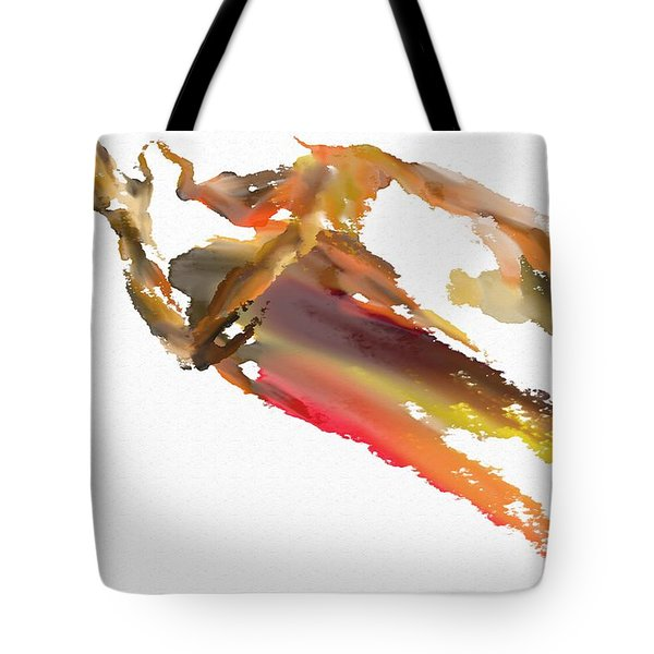 Pray Tote Bag by Len YewHeng
