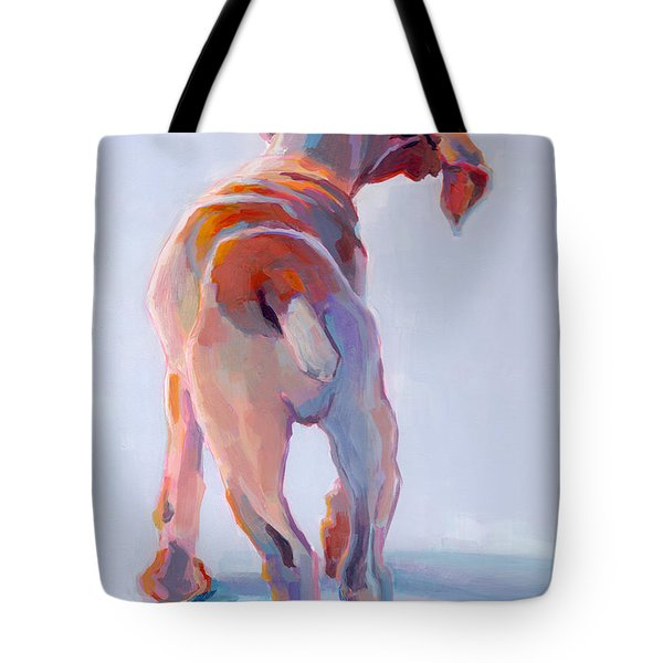 Precocious Tote Bag by Kimberly Santini