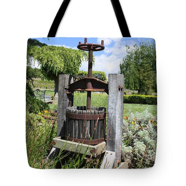Make Grapes Whine Tote Bag