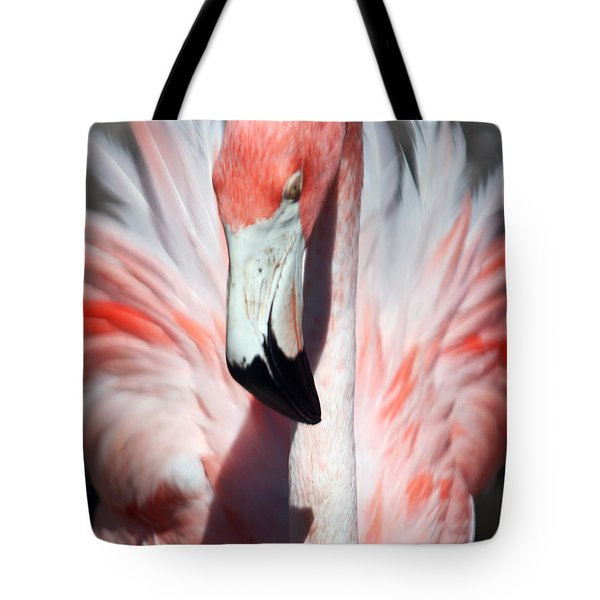 Pretty Flamingo Tote Bag