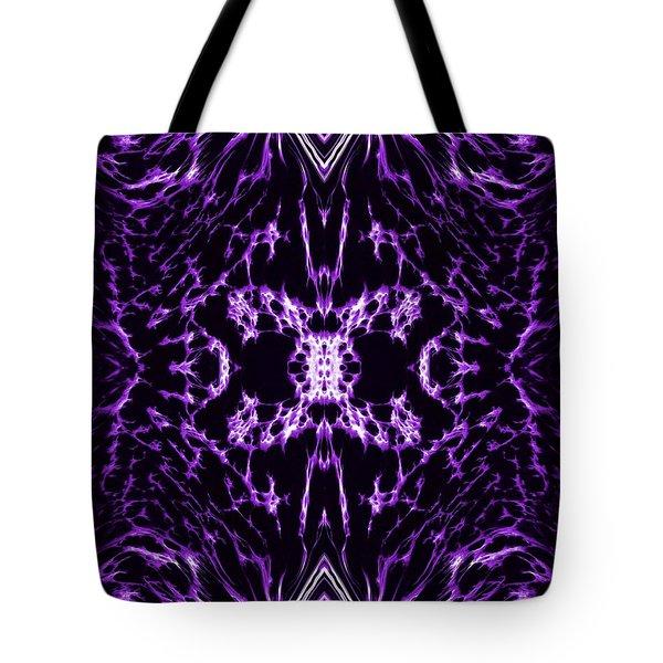 Purple Series 2 Tote Bag by J D Owen