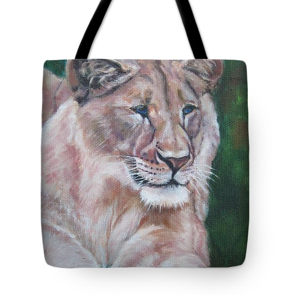 Queen Of The Beast,lioness Tote Bag
