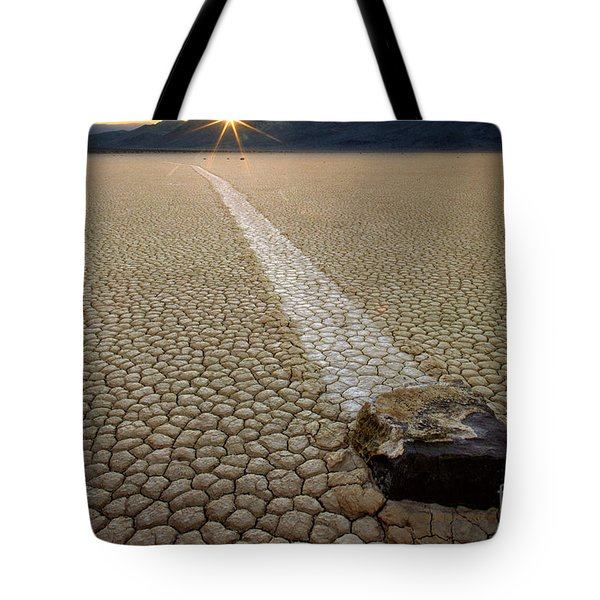 Racing Rock Tote Bag