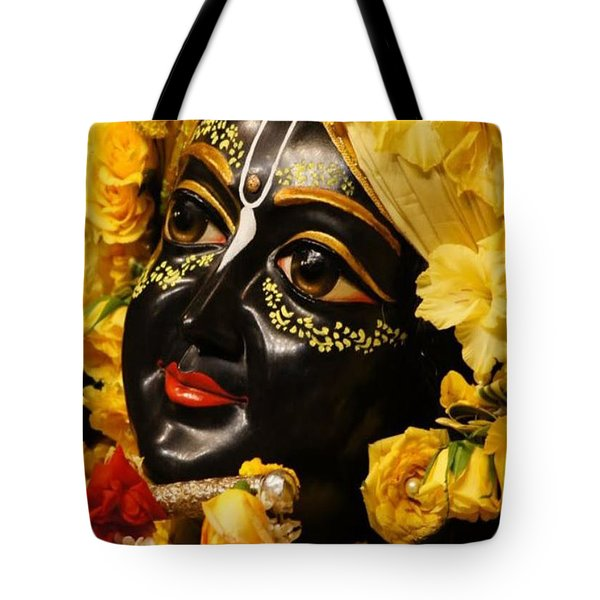 Radha Krishna Idol Hinduism Religion Religious Spiritual Yoga Meditation Deco Navinjoshi  Rights Man Tote Bag