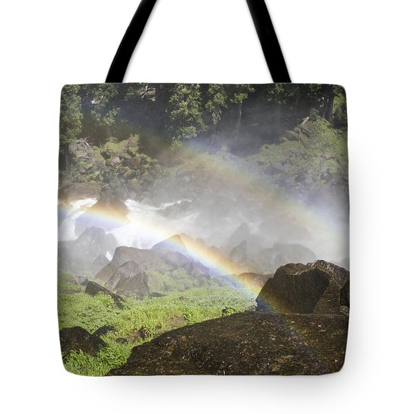 Rainbow Twins Tote Bag