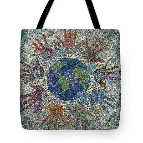 Reach Out  Tote Bag by Erika Pochybova