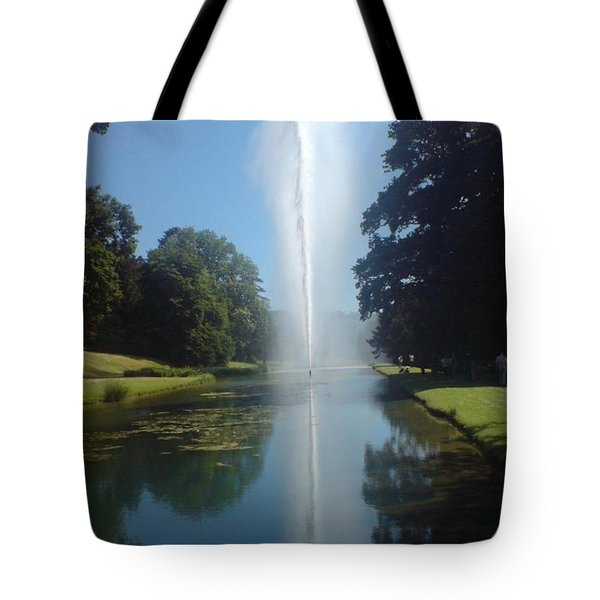 Reaching High Tote Bag