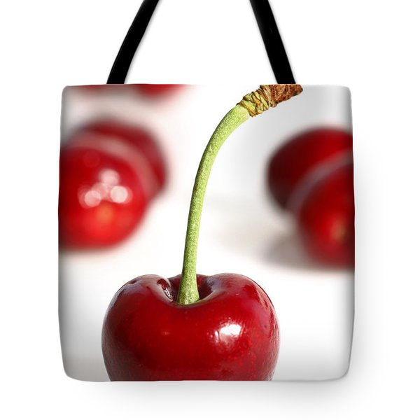 Red Cherries Tote Bag