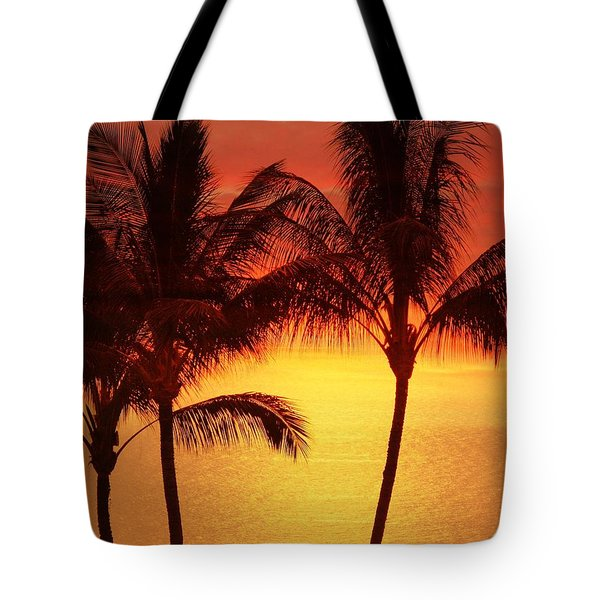 Red Sunset. Tote Bag