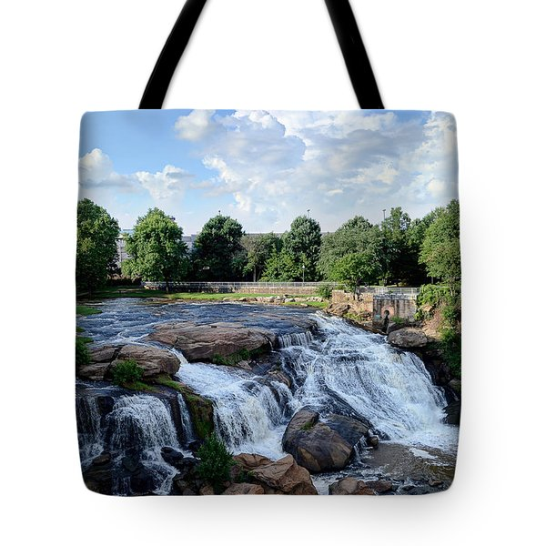 Reedy River Falls Tote Bag