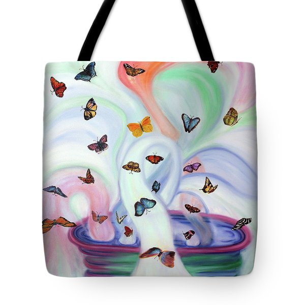 Releasing Butterflies Tote Bag by Jeanette Sthamann