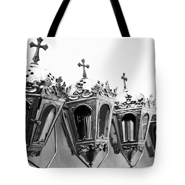 Religious Artifacts Tote Bag by Gaspar Avila