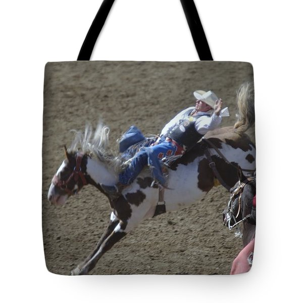 Ride Em Cowboy Tote Bag by Jeff Swan