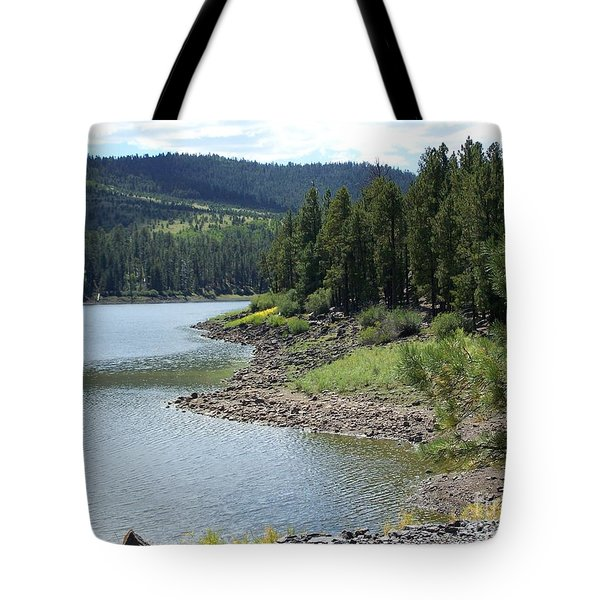 River Reservoir Tote Bag