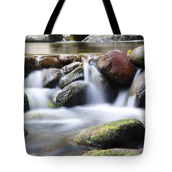 River Rocks Tote Bag by Jenna Szerlag