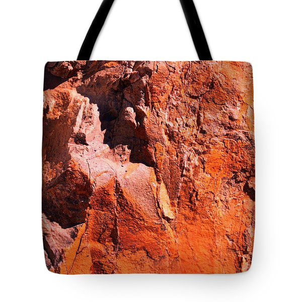 Tote Bag featuring the photograph Rock Art 4 by M Diane Bonaparte