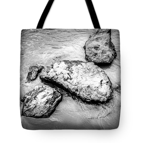 Rocks In The River Tote Bag
